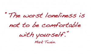 dealing with loneliness quote
