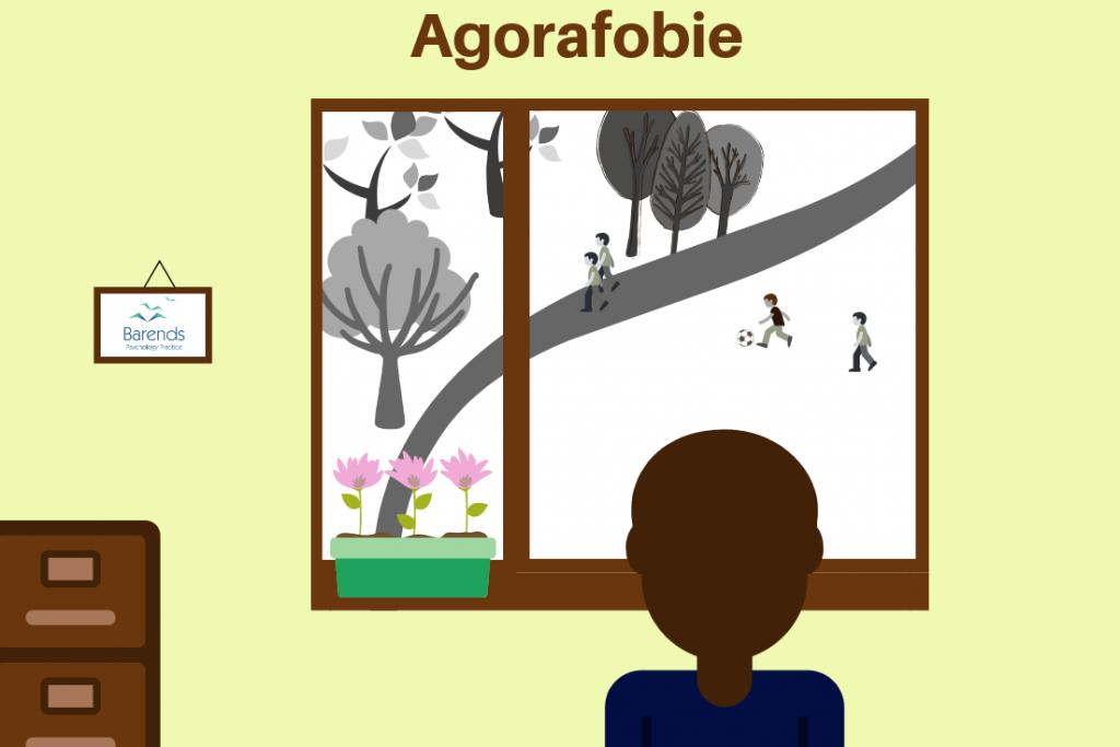 Agorafobie symptomen. Wat is agorafobie? Hoe is het voor iemand om hevige Agorafobie te hebben?
