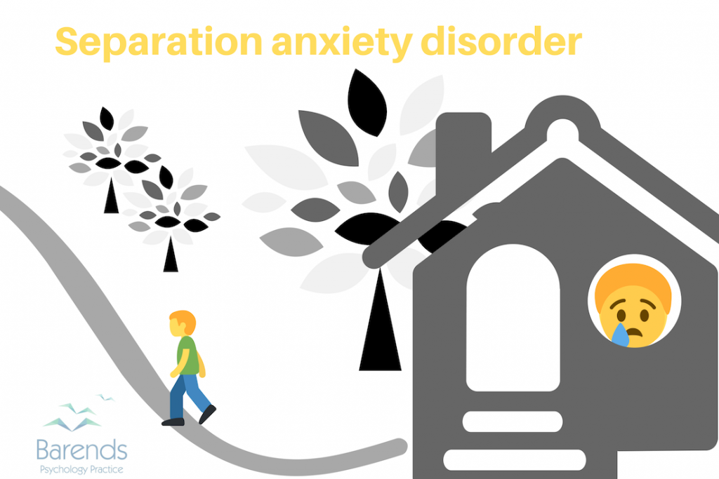 Anxiety disorders. Separation anxiety disorder.