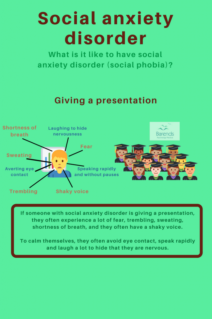 Social anxiety disorder. What is it like to have a social anxiety disorder. Anxiety disorders.